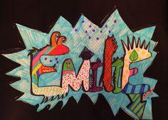 Almost-Art: Grafitti med 2.kl