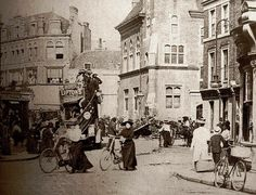 Bromley Market Square Bromley Kent England in the early 1900's