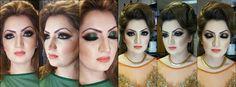 Makeup by sadaf wassan Party Makeup, Most Beautiful, Halloween Face Makeup, Hair Styles, Women, Hair Plait Styles, Festival Makeup, Hair Makeup, Hairdos