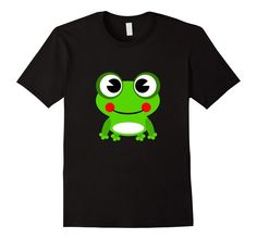 Super fun Frog Graphic Tee! Available for sale on Amazon!!: https://www.amazon.com/dp/B01B5BZH6O Available in Men's, Women's, & Youth Sizes