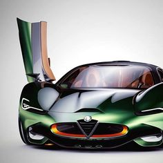 Alfa Romeo Furia supercar concept from independent designer Paul Breshke. Ferrari, Maserati, Bugatti, Lamborghini Aventador, Porsche, Audi, Bmw, Mustang, Royce