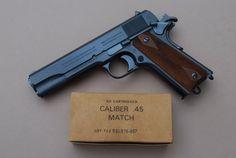Colt WWI repro carbona blue