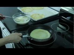 Make Crêpes at home. An easy-to-follow video.