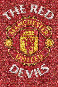 Manchester United Crest   Buy Poster Online