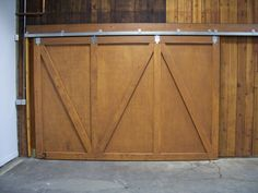 make a plywood barn door - Google Search