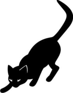 Шаблоны кошек.. Обсуждение на LiveInternet - Российский Сервис ...