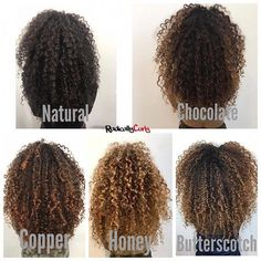 33 trendy ombre hair color ideas of 2019 - Hairstyles Trends Curly Hair Salon, Dyed Curly Hair, Curly Hair Styles, Dyed Natural Hair, Colored Curly Hair, Curly Hair Tips, Natural Hair Highlights, Hairstyles For Curly Hair, 3c Hair