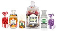We do branded sweet products for businesses