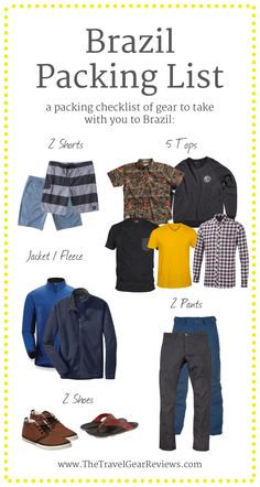 What to pack when visiting #Brazil including Sao Paulo, Rio and more. #travel
