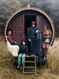 Campagne Scotch and soda denim enfant automne 2013