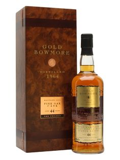 Bowmore 1964 Gold / 44 Year Old Scotch Whisky : The Whisky Exchange