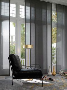 Bonitos paneles para grandes ventanas.  estoweb.com