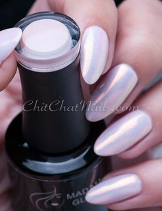 Rosy Nude with the Mermaid Effect | ChitChat Nails