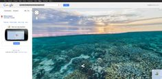 "Google Maps Goes Diving, Provides ""Seaview"" Of Great Barrier Reef, Hawaii and Philippines"
