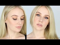 HI GUYS! As you all know I have naturally very fair skin & so I decided to share my favourite tips and products for contouring, a nude lip and bronze eyes (a...