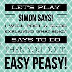 Online party games simon says ideas for 2019 Jamberry Party Games, Younique Party Games, Thirty One Games, Thirty One Party, Star Citizen, Simon Says Game, Scentsy Games, Interactive Posts, Calamari