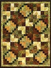 Quilt - Pieced Patterns - Lap Quilts - Kayenta Quilt Pattern