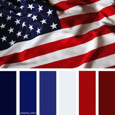 Shades Of The American Flag (Photo Credit: feelgrafix.com) #chasingcolor #colorthemes #colorful #shades #tones #hues #color #palette #colorpalette #colorinspiration #inspiration #creativity #art #photography #design #theme #americanflag #red #white #blue #4thofjuly #fourthofjuly