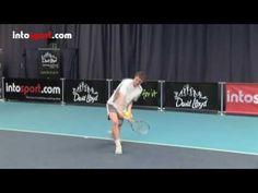 Tennis Backhand- Topspin Technique