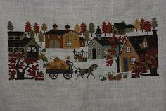 neighborhood cross stitch