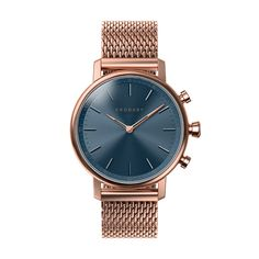 Kronaby smart watch - Carat Blue Rose Milanese