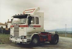 Scania 142 in Perugia, Italy.