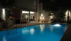 Nikolas Dorizas Architect Tel: +30.210.4514048 Address: 36 Akti Themistokleous – Marina Zeas, Piraeus 18537, Κατοικία στην Καστέλα σε τρεις δρόμους με εξωτερική πισίνα - Residence in Kastela, facing three streets, for a family of three, with an external pool Outdoor Decor, Home Decor, Decoration Home, Room Decor, Home Interior Design, Home Decoration, Interior Design