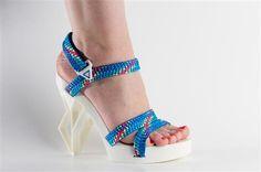 3ders.org - German designer 3D prints custom high heel shoes for his wife | 3D Printer News & 3D Printing News