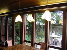 Copper and Paper Chandelier Lighting  Three Shade by Khalima, $475.00