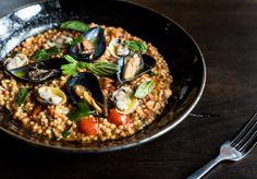 Fregola Frutti Di Mare - seafood feast