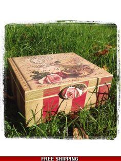 Tea Box x 4 square