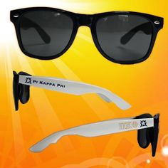 Gear up for Spring Break and the Summer with these brand new Phi Gamma Delta Fraternity Sunglasses. Sunglasses come as shown. Sigma Phi Epsilon, Phi Delta Theta, Alpha Fraternity, Sigma Chi, Alpha Chi Omega, Sorority, Spring Break, Summer, Exceed