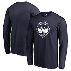 UConn Huskies Fanatics Branded Big & Tall Primary Team Logo Long Sleeve T-Shirt - Navy