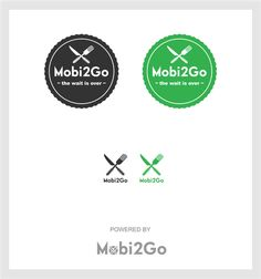 Mobi2Go logo refresh by evergreen art