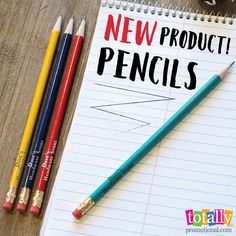 We are excited to announce #custom #pencils to our Writing Instrument line! Check them out!