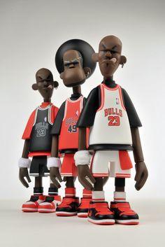 Michael Lau figures. #sports #basketball
