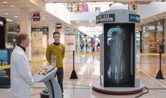 """Ação para promover o novo Star Trek """"teletransporta"""" pessoas em shopping"""