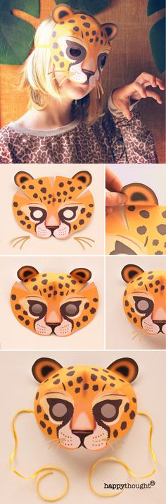Printable Masks, Printables, Printable Paper, Printable Templates, Zebra Mask, Jungle Theme Parties, Cool Toys For Boys, Kids Background, Mask Template