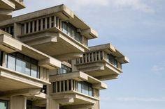 modernist brutalist architecture - Google Search