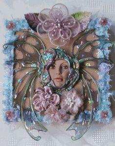 Etsy の DAOINE FAERIE EMBELLISHED CANVAS by JenniesHeirlooms