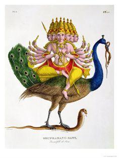 Skanda, Subramnya -- the divine leader of God's army