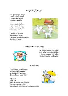 Cancionero infantil Escuela Bibichu Professor, School Worksheets, Kids Songs, Craft Activities, Language, Teaching, Comics, Crafts, Spanish Activities