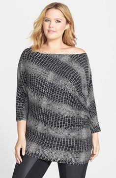 Dolman Sleeve Top (Plus Size)