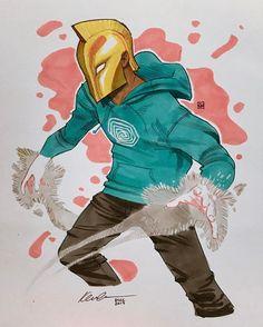 Doctor Fate by Kevin Wada * Marvel Comics, Dc Comics Art, Marvel Dc, Superhero Characters, Cartoon Characters, Kevin Wada, Dr Fate, Comic Art, Comic Books