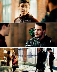 Arrow 5x08 Stephen Amell Arrow, Arrow Oliver, Supergirl Dc, Supergirl And Flash, Justice League Show, The Flash Cisco, Dc Comics, Tommy Merlyn, Arrow Memes