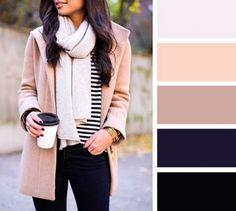 10 актуальных цветовых схем для осенних образов 6