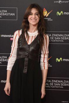 Charlotte Gainsbourg - Cérémonie de clôture du 62e festival du film de San Sebastian. Le 27...