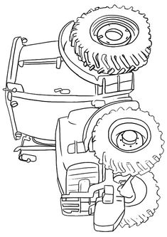top 25 free printable tractor coloring pages