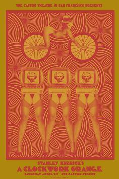 Clockwork Orange poster.