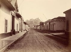 Cerro Santa Lucia, Old Pictures, Railroad Tracks, Night, Outdoor, Emilio, The World, Lugares, Santiago